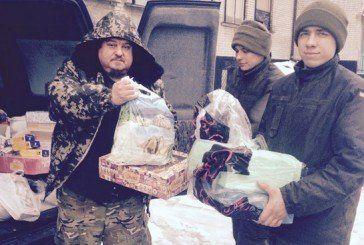 Священики-капелани з Тернопільщини провели Різдвяні свята у зоні АТО (ФОТО)