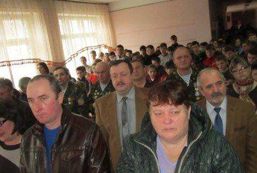 У Снігурівській школі на Лановеччині відкрили стенд пам'яті полеглого в афганській війні Григорія Драбчука (ФОТО)
