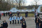 В Озерній Зборівського району відбувся флешмоб «Вони тримають небеса» (ФОТО)