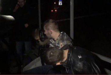 Опублікували відео затримання учасників смертельної погоні в Києві