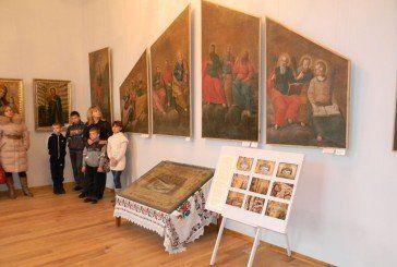 У Вишнівецькому палаці відкрили виставку унікальних ікон