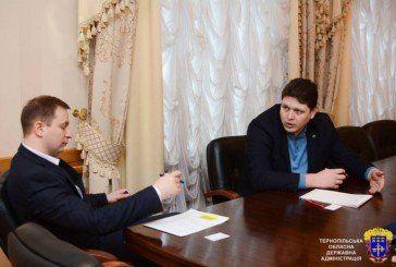 На Тернопільщині з робочим візитом побував глава Державної міграційної служби Максим Соколюк (ФОТО)