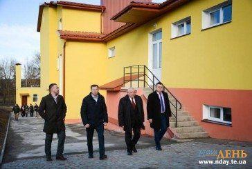 На Тернопільщині відремонтували 109-літню школу (ФОТОРЕПОРТАЖ)