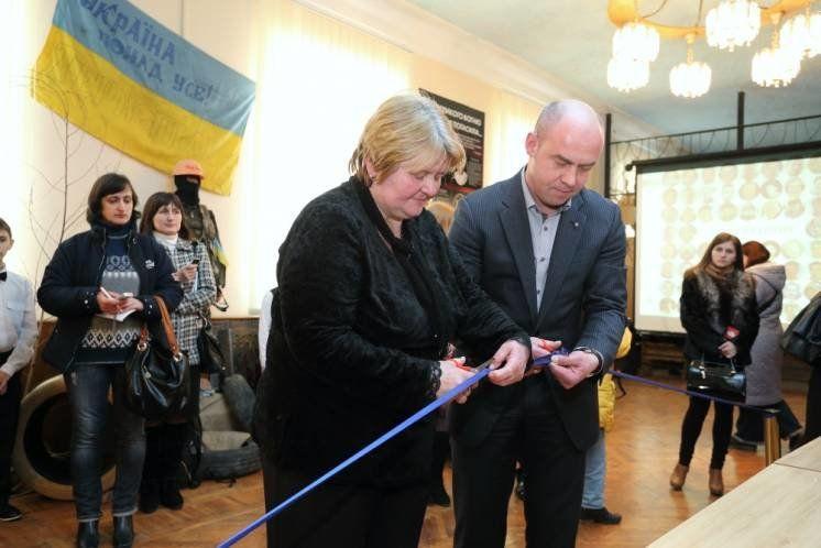 У Тернополі відкрили музей Революції Гідності (ФОТО)