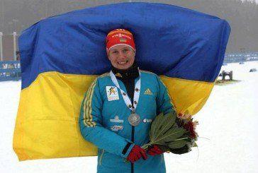 Тернопільська біатлоністка Анастасія Меркушина - срібна призерка чемпіонату світу