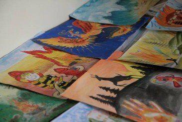Тернопільські діти створювали малюнки та живопис на протипожежну і техногенну тематику (ФОТО)