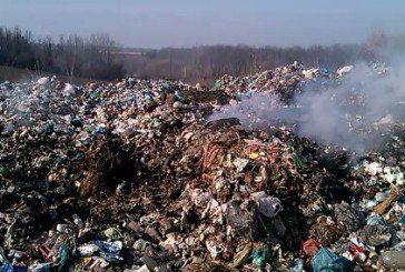 У Підволочиську горіло сміттєзвалище (ФОТО)