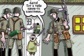 Українські анекдоти. Лікар диктує практиканту: – Пишіть: черепна травма голови…