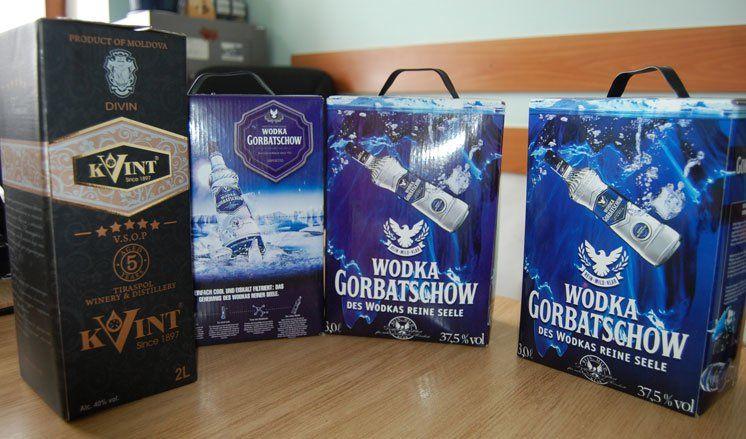 Четверо жителів Тернопільщини виготовляли і збували сурогатний алкоголь, зокрема «Горілку Горбачов» (ФОТО)