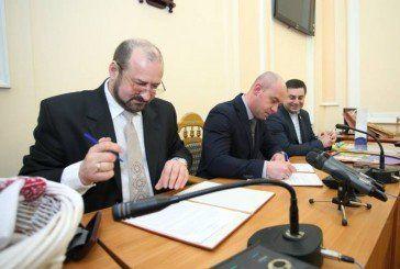 Підписали Меморандум про співпрацю між Тернополем і Першотравневим районом Донеччини (ФОТО)