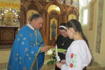 Вихованки колегіуму «Знамення», що у Зарваниці на Тернопільщині, стали членами руху «Справжня любов чекає» (ФОТО)