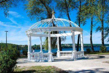 Тернополяни поламали павловнії, які висадили на «Острівку кохання»