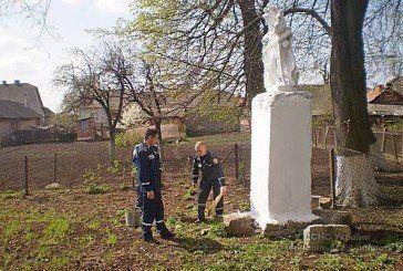 Тернопільські рятувальники оновили фігури Святого Флоріана – захисника від пожеж (ФОТО)