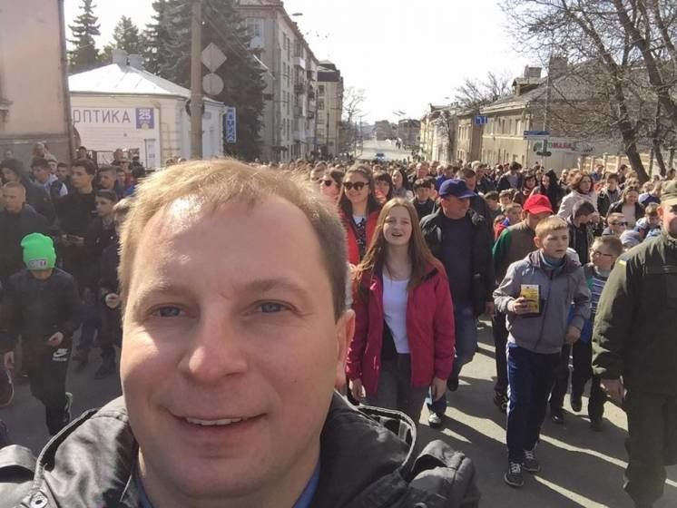 До Тернополя на футбольне свято приїхали більше тисячі дітей з усієї області (ФОТО)
