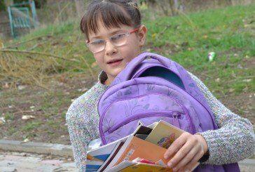 Тернопільська школярка Марічка Галайда мріє про дейзі-бібліотеку