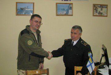 Військовий капелан з Тернополя зустрівся з українськими моряками Одеси (ФОТО)