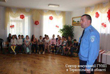 Поліцейські побували з візитом у школярів напередодні канікул (ФОТО)