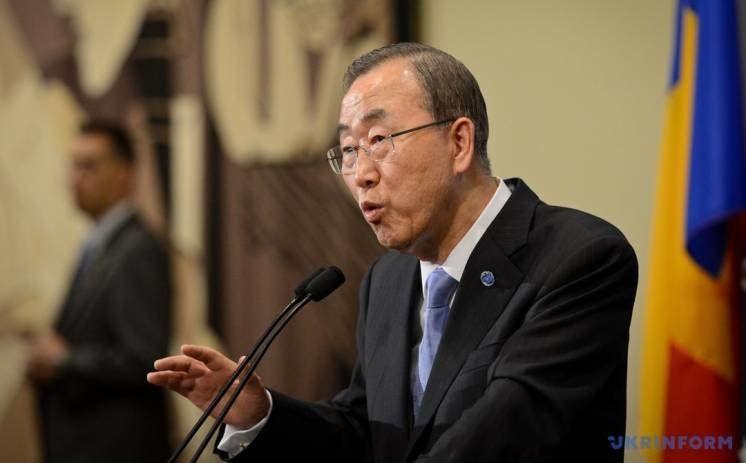 Пан Гі Мун оскандалився через похвальбу Путіну