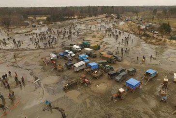В Україні з'явиться пустеля через «бурштинову мафію»