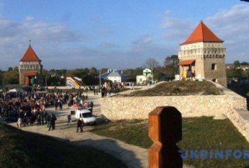 Замок на Тернопільщині нині має своє свято