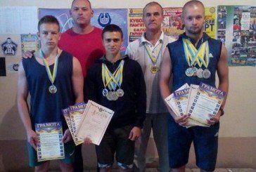 Збаразькі гирьовики на Чемпіонаті України