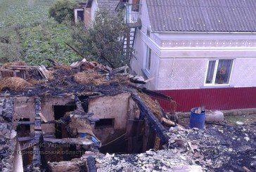 У Тернопільському районі вщент вигоріла господарка (ФОТО)