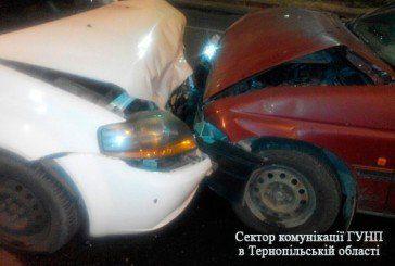 У Тернополі на Лесі Українки аварія (ФОТО)