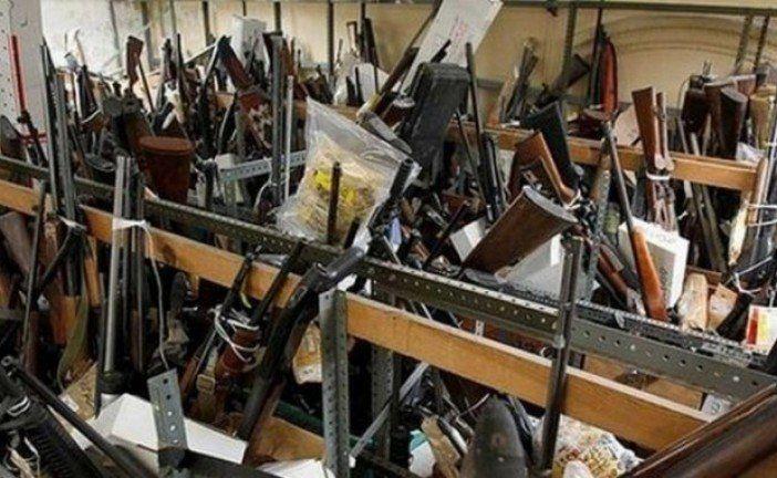 На Тернопільщині триває місячник по вилученню вибухівки, зброї та боєприпасів