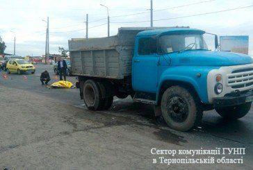 У Тернополі під колесами вантажівки загинула жінка (ФОТО)
