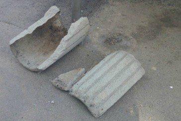 На дамбі Тернопільського ставу невідомі розбили всі урни (ФОТО)