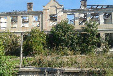У Підволочиському районі горіла недіюча школа (ФОТО)
