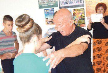Відомий балетмейстер провів майстер-класи для лановецьких танцюристів (ФОТО)