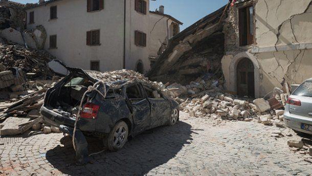 Ще один землетрус стався в Італії