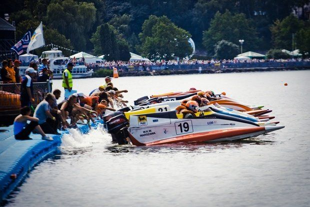 До Тернополя на Чемпіонат світу та Європи з водно-моторного спору приїхало 50 команд із 13 країн
