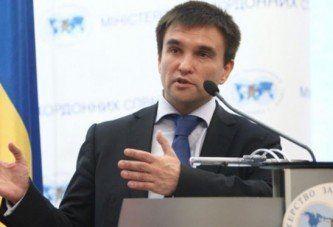 Клімкін просить допомоги у НАТО