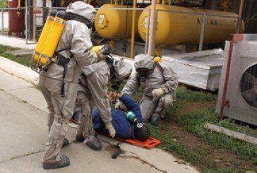 У Чортківському районі тренувалися ліквідовувати умовну надзвичайну ситуацію на хімічно-небезпечному об'єкті
