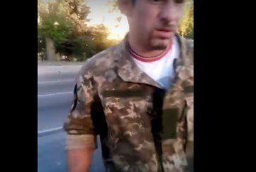 Роми у формі ЗСУ жебракують у Львові. Виховний момент від воїна АТО!!! (ВІДЕО)