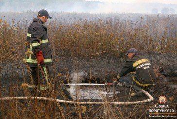 На Шумщині й далі горить торф (ФОТО, ВІДЕО)