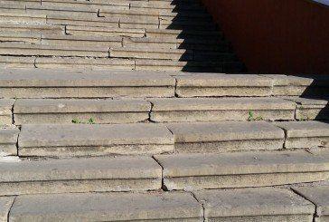 Тернопіль: сходи «в минуле» біля фонтану «Сльози Гронського» (ФОТО)
