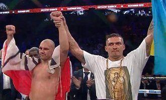 Олександр Усик здобув титул чемпіона світу у першій важкій вазі за версією WBO