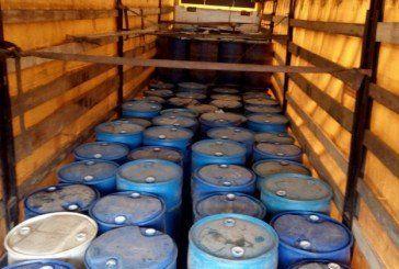 На Тернопільщині з незаконного обігу вилучено спирт на суму більш як 3 млн грн