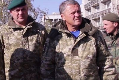 Екс-тренер «Дніпра» Маркевич потрапив під обстріл бойовиків (ВІДЕО)