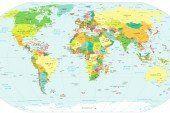 Реальні розміри країн світу: насправді Росія не така вже й велика