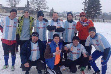 На Гусятинщині провели першість району з міні-футболу на снігу (ФОТО)