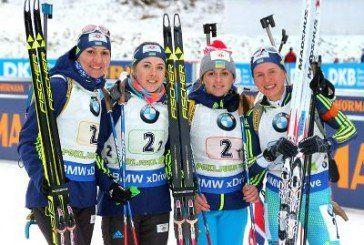 Українки посіли 2 місце в естафеті на чемпіонаті світу