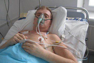 Микола Климчук зі Збаражчини уже два місяці бореться за життя. На лікування потрібні великі кошти, яких у родини немає