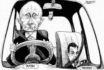 Українські анекдоти: 2050 й рік. Двоє старих дідів під руку шкандибають Кремлем…