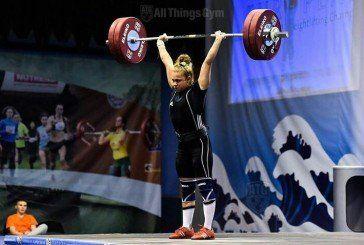 Тернопільська важкоатлетка, студентка ТНЕУ Марія Хлян, здобула у Хорватії «срібло» чемпіонату Європи (ФОТО)