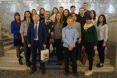 Студенти ТНЕУ побували на екскурсії у Верховній Раді (ФОТО)