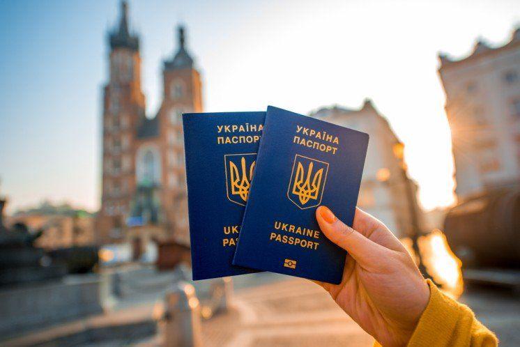 Український паспорт: географія безвізу (інфографіка)